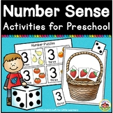 Number Sense Activities and Printables for Preschool