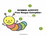 Number Activity - The Very Hungry Caterpillar