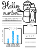 Number Activity Workbook 0-9 Trace Graph Tally & Find
