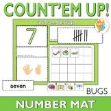 Count'em Up!  Bug Number Activity Mat 1-20