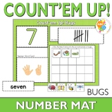 Number Activity and Playdough Mats with Ants Numbers 1-20