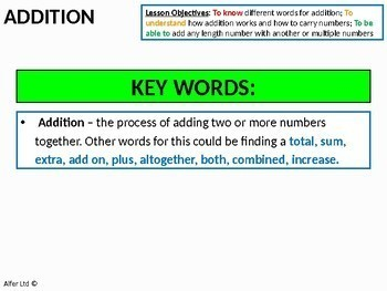 Number: Adding / Addition (+ lots of resources)