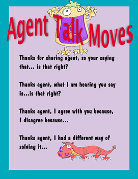 Number Agent - Talk Moves