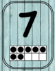 Number Anchor Charts 0-20 {Rustic Coastal}