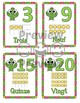 Number Anchor Charts 0 to 20 with Ten Frames -  Cactus  French