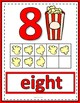 Number Anchor Charts 0 to 20 with Ten Frames -  Popcorn