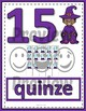 Number Anchor Charts 0 to 20 with Ten Frames -  Wizards French