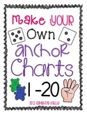 Number Anchor Charts 1-20