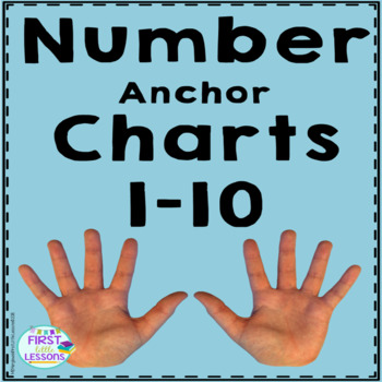Number Anchor Charts 1 To 10