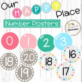 Number Anchor Charts   Our Happy Place Classroom Decor   R