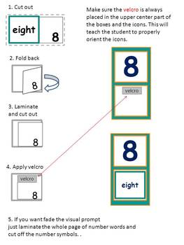 Number And Word Matching Folder