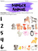 Number Animals: A Number Recognition Activity