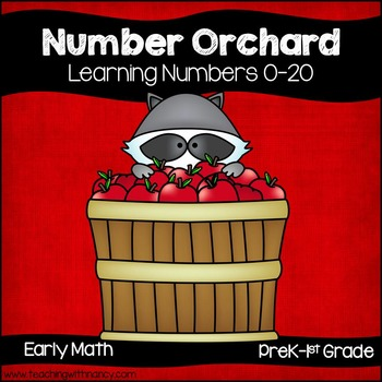 Number Apple Orchard (4 Activities for Learning 0-20)