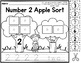 Apple Number Sort  (Numbers 0-20)