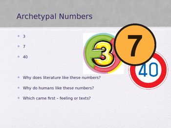 Number Archetypes