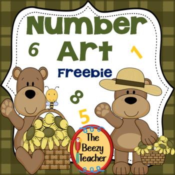 Number Art Freebie