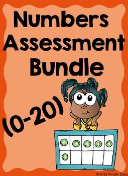 Number Assessment Bundle