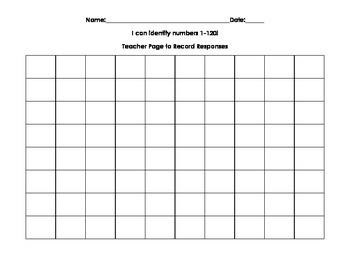Number Assessments