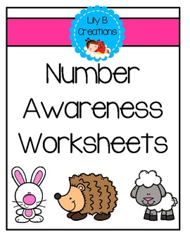 Number Awareness Worksheets For Young Learners
