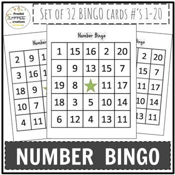 Number BINGO (1-20)