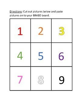 Number BINGO (differentiated and minimal prep!) Great for End of the Year!