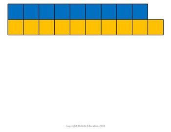 Number Bars 1-10 Printable