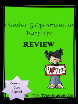 Number Base Ten Review Worksheets
