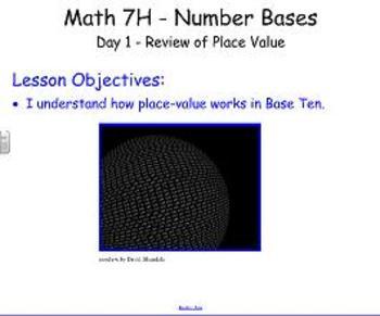 Number Bases SmartBoard Lessons