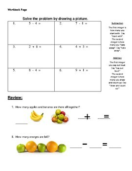 Number Basics - adding and subtracting