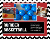 Place Value, Base Ten, Measurement, Ten Frames, +, -, More! Number Basketball