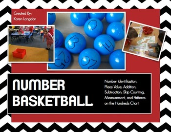 Number Basketball - Math Review Extravaganza!