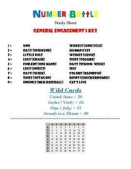 Number Battle Code - General Engagement