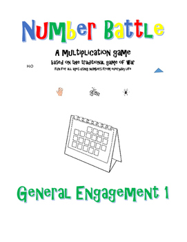 Number Battle - General Engagement 1