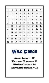 Number Battle - Yankee Strike Flashcards