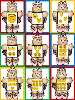 Number Sense Centers and Activities For Kindergarten - Bear Themed