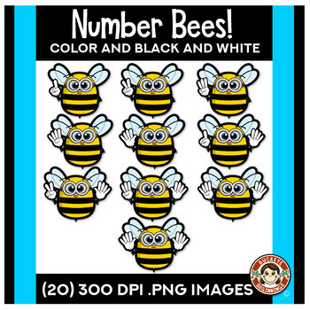 Number Bees | Counting Hands