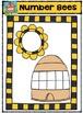 Number Bees {P4 Clips Trioriginals Digital Clip Art}