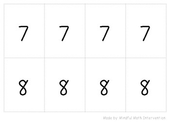 Number Before or Number After 1-10