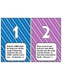 Number Bible Verse Cards