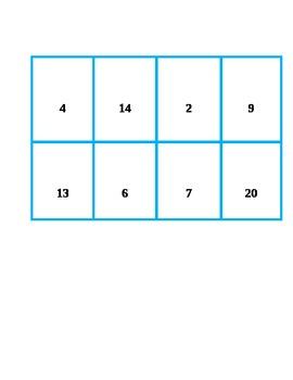 Number Bingo