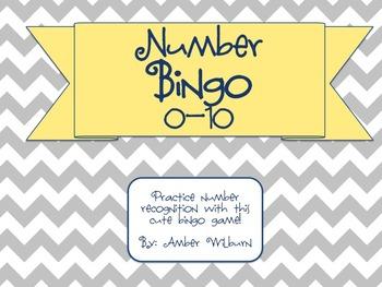 Number Bingo 1-10