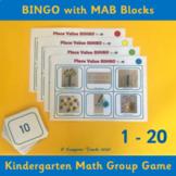 Number Bingo 1-20 – Kindergarten/1st Grade Place Value/BASE 10
