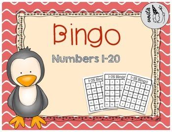 Number Bingo (1-25)