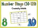 Number Bingo (50-120 Practice)
