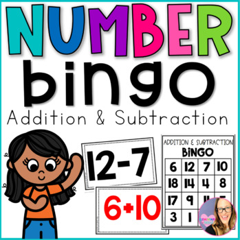 Number Bingo- Addition and Subtraction
