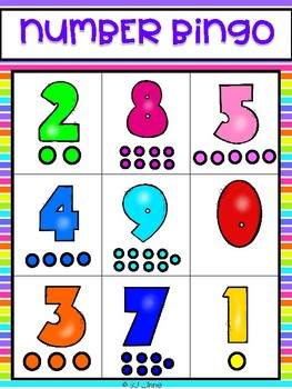 Number Bingo Game