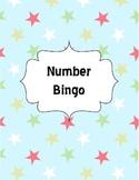 Number Bingo cards