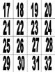Number Bingo to practice numbers 1 to 99