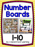 Number Boards 1-10!