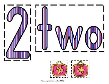 Number Boards 1-10
